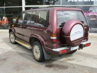 2002 Holden Jackaroo U8 Turbo Nullabor Foxfire Automatic Wagon.