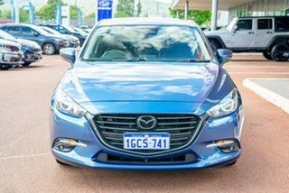 2016 Mazda 3 BN5478 Touring SKYACTIV-Drive Blue 6 Speed Sports Automatic Hatchback.