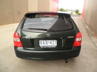 2000 Mazda 323 BJ Astina Green Metallic 4 Speed Automatic Hatchback