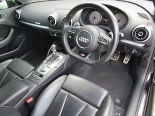 2015 Audi S3 8V MY15 Sportback S Tronic Quattro Black 6 Speed Sports Automatic Dual Clutch Hatchback