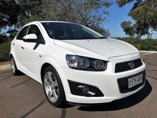 2012 Holden Barina TM MY13 CDX White 6 Speed Automatic Sedan.
