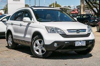 2007 Honda CR-V RE MY2007 Sport 4WD Taffeta White 5 Speed Automatic Wagon.