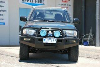 2007 Mitsubishi Triton ML GLX (4x4) Green 5 Speed Manual 4x4 Double Cab Utility.