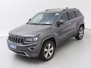 2016 Jeep Grand Cherokee WK MY15 Overland (4x4) Grey 8 Speed Automatic Wagon