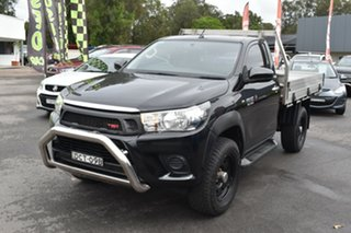 2015 Toyota Hilux KUN26R MY14 SR Black 5 Speed Automatic Cab Chassis