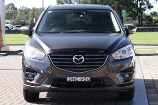 2016 Mazda CX-5 KE1072 Maxx SKYACTIV-Drive Sport Bronze 6 Speed Sports Automatic SUV
