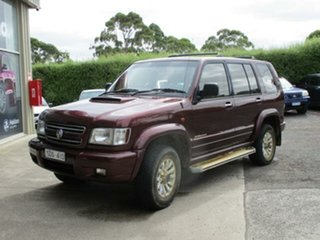 2002 Holden Jackaroo U8 Turbo Nullabor Foxfire Automatic Wagon
