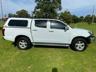 2014 Isuzu D-MAX MY14 LS-U Crew Cab 4x2 High Ride White 5 Speed Sports Automatic Utility