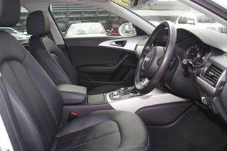 2016 Audi A6 4G MY17 S Tronic White 7 Speed Sports Automatic Dual Clutch Sedan