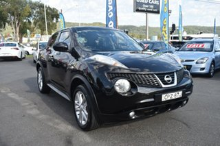 2013 Nissan Juke F15 MY14 ST 2WD Black 1 Speed Constant Variable Hatchback.