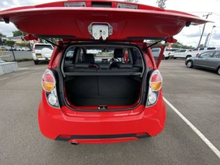2011 Holden Barina Spark MJ MY11 CDX Red 5 Speed Manual Hatchback
