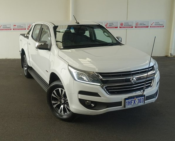 Pre-Owned Holden Colorado RG MY17 LTZ (4x4) Myaree, 2016 Holden Colorado RG MY17 LTZ (4x4) White 6 Speed Manual Crew Cab Pickup