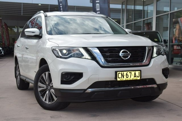 Used Nissan Pathfinder R52 Series II MY17 ST X-tronic 2WD Blacktown, 2017 Nissan Pathfinder R52 Series II MY17 ST X-tronic 2WD Ivory Pearl 1 Speed Constant Variable