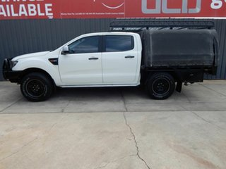 2014 Ford Ranger PX XLS Double Cab White 6 Speed Manual Utility