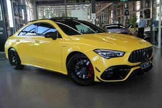 2020 Mercedes-Benz CLA-Class CLA45 AMG SPEEDSHIFT DCT 4MATIC+ S Yellow 8 Speed.