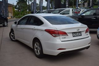 2013 Hyundai i40 VF2 Active White 6 Speed Sports Automatic Sedan.