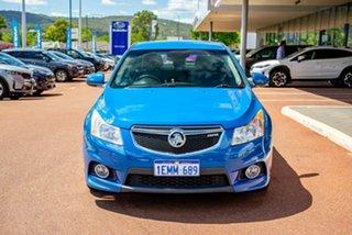 2013 Holden Cruze JH Series II MY13 SRi Blue 6 Speed Sports Automatic Hatchback.