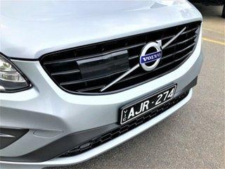 2016 Volvo XC60 DZ MY17 T5 Geartronic AWD R-Design Silver 8 Speed Sports Automatic Wagon.
