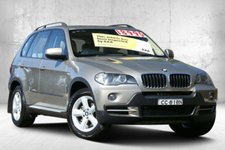 2008 BMW X5 E70 si Steptronic Executive Platinum Bronze 6 Speed Sports Automatic Wagon.