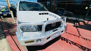 2012 Toyota Hilux KUN16R MY12 SR Xtra Cab 4x2 White 5 Speed Manual Utility