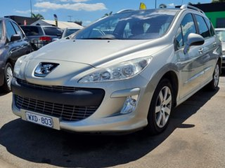 2008 Peugeot 308 T7 XS Touring Silver 4 Speed Sports Automatic Wagon.