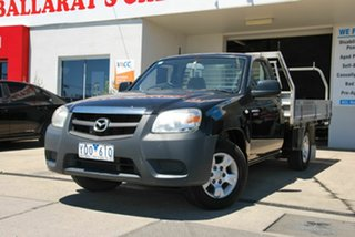 2011 Mazda BT-50 09 Upgrade Boss B2500 DX Black 5 Speed Manual Cab Chassis.