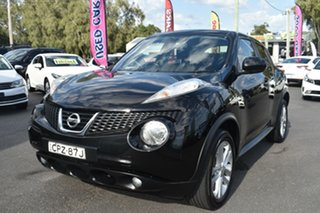 2013 Nissan Juke F15 MY14 ST 2WD Black 1 Speed Constant Variable Hatchback
