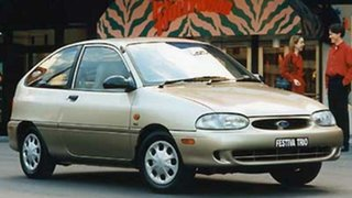 1998 Ford Festiva WF Trio White 3 Speed Automatic Hatchback.