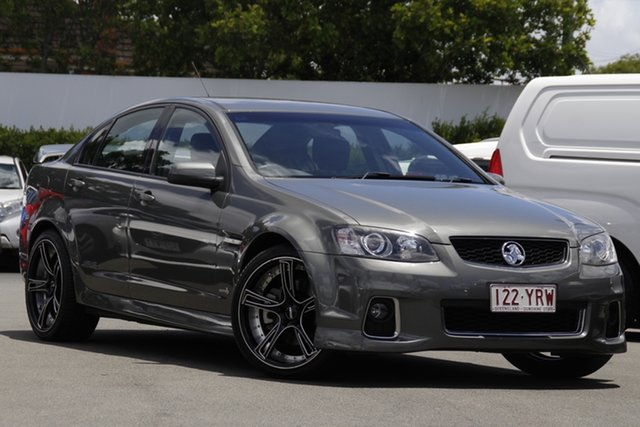 Used Holden Commodore VE II MY12 SS V Mount Gravatt, 2012 Holden Commodore VE II MY12 SS V Grey 6 Speed Manual Sedan