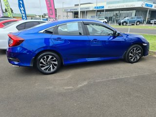 2017 Honda Civic 10th Gen MY17 VTi-S Blue 1 Speed Constant Variable Sedan.