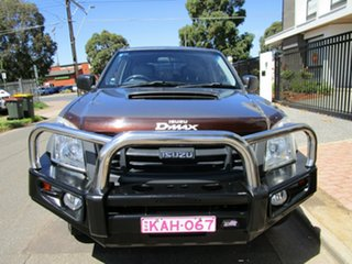 2010 Isuzu D-MAX TF MY10 SX (4x4) White 5 Speed Manual Dual Cab Utility.