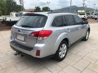 2011 Subaru Outback B5A MY12 2.5i Lineartronic AWD Silver 6 Speed Constant Variable Wagon