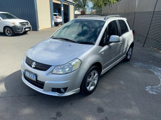 2007 Suzuki SX4 GYA S Silver 5 Speed Manual Hatchback.