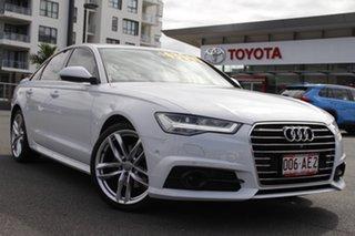 2016 Audi A6 4G MY17 S Tronic White 7 Speed Sports Automatic Dual Clutch Sedan.