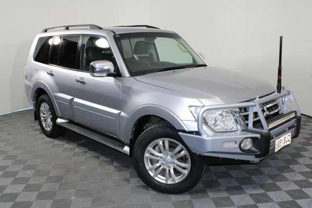 Used Mitsubishi Pajero NX MY16 GLX Wayville, 2015 Mitsubishi Pajero NX MY16 GLX Cool Silver 5 Speed Sports Automatic Wagon