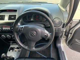 2007 Suzuki SX4 GYA S Silver 5 Speed Manual Hatchback