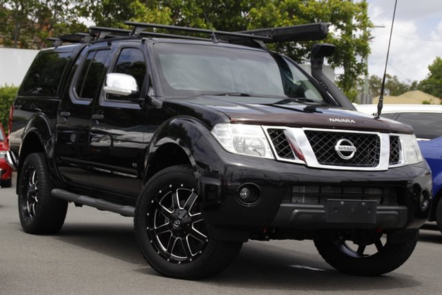 Used Nissan Navara D40 S5 MY12 ST-X 550 Mount Gravatt, 2013 Nissan Navara D40 S5 MY12 ST-X 550 Black 7 Speed Sports Automatic Utility