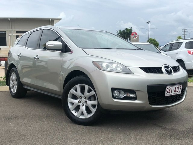 Used Mazda CX-7 ER1031 MY07 Luxury Garbutt, 2008 Mazda CX-7 ER1031 MY07 Luxury Silver 6 Speed Sports Automatic Wagon