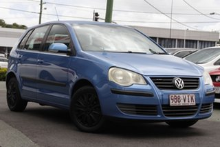 2007 Volkswagen Polo 9N MY2007 TDI Blue 5 Speed Manual Hatchback.
