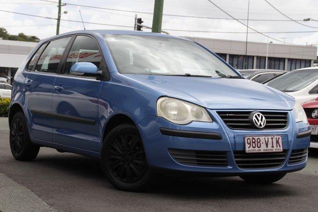 Used Volkswagen Polo 9N MY2007 TDI Mount Gravatt, 2007 Volkswagen Polo 9N MY2007 TDI Blue 5 Speed Manual Hatchback