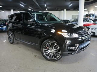 2014 Land Rover Range Rover Sport L494 MY14.5 SE Black 8 Speed Sports Automatic Wagon.