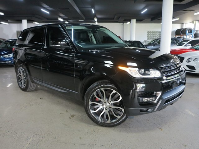 Used Land Rover Range Rover Sport L494 MY14.5 SE Albion, 2014 Land Rover Range Rover Sport L494 MY14.5 SE Black 8 Speed Sports Automatic Wagon