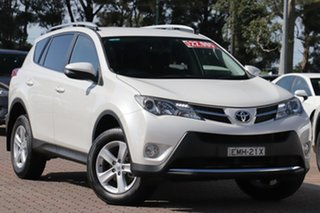 2014 Toyota RAV4 ZSA42R MY14 GXL 2WD White 7 Speed Constant Variable SUV.