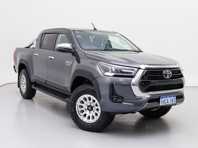Used Toyota Hilux GUN126R Facelift SR5 (4x4), 2020 Toyota Hilux GUN126R Facelift SR5 (4x4) Grey 6 Speed Automatic Double Cab Chassis