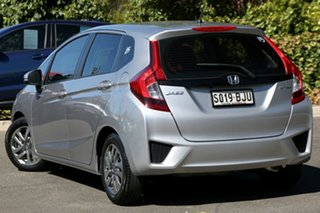 2015 Honda Jazz GF MY16 VTi Alabaster Silver 5 Speed Manual Hatchback.