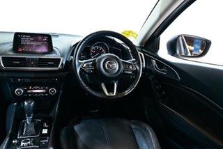 2017 Mazda 3 BN5438 SP25 SKYACTIV-Drive Astina White 6 Speed Sports Automatic Hatchback