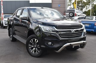 2017 Holden Colorado RG MY17 LTZ Pickup Crew Cab Black 6 Speed Sports Automatic Utility.