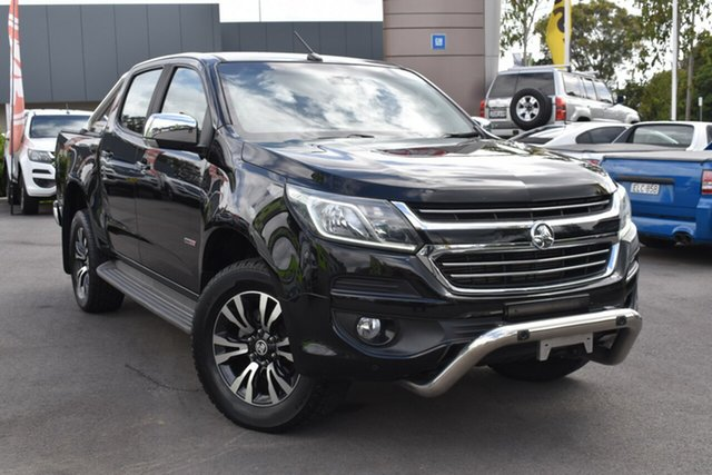 Used Holden Colorado RG MY17 LTZ Pickup Crew Cab Tuggerah, 2017 Holden Colorado RG MY17 LTZ Pickup Crew Cab Black 6 Speed Sports Automatic Utility
