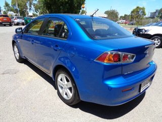 2013 Mitsubishi Lancer CJ MY13 ES Blue 6 Speed Constant Variable Sedan
