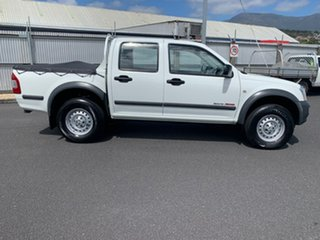 2006 Holden Rodeo RA MY06 LX Crew Cab 4x2 White 5 Speed Manual Utility.